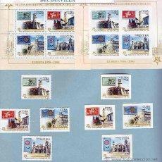 Sellos: CUBA, EUROPA-CEPT, 2005, 4275/78+HB204+4275A/78A+HB204A. Lote 48110566