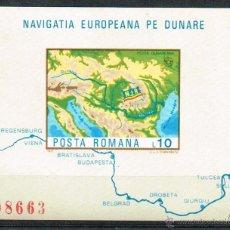 Sellos: PRO EUROPA. 1977 RUMANIA EUROPA COMISIÓN DEL DANUBIO MNH**. Lote 48200434