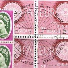 Sellos: PRO EUROPA. 1960 EUROPA CEPT B4 MATASELLOS DEL PRIMER DÍA EMISIÓN AÑO COMPLETO(MENOS LIECHTENSTEIN). Lote 48212577