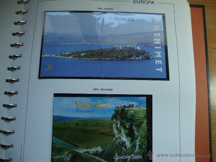 CARNET TEMA EUROPA AÑO 2004 NUEVOS PERFECTOS VER FOTOS (Sellos - Temáticas - Europa Cept)
