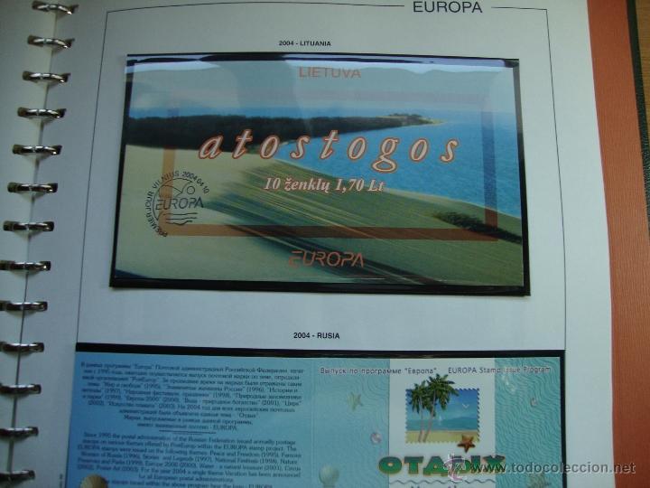 Sellos: CARNET TEMA EUROPA AÑO 2004 NUEVOS PERFECTOS VER FOTOS - Foto 8 - 48422757