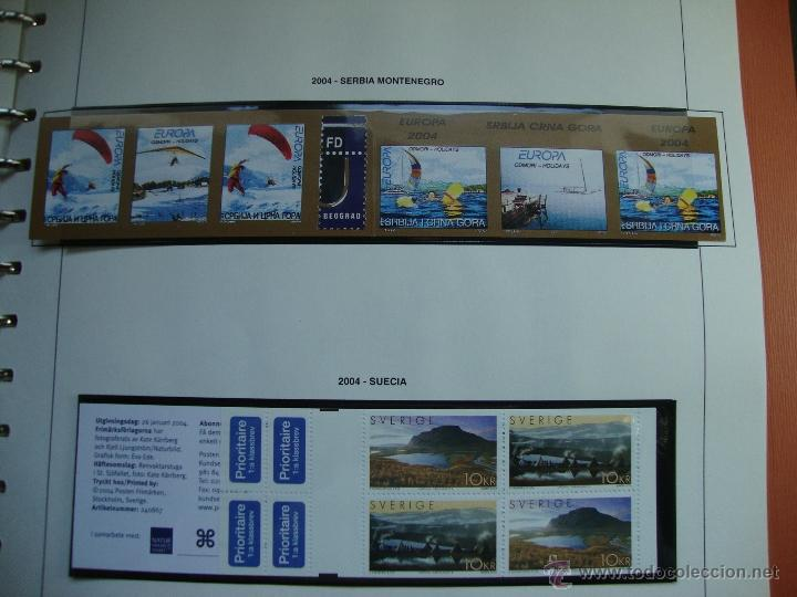 Sellos: CARNET TEMA EUROPA AÑO 2004 NUEVOS PERFECTOS VER FOTOS - Foto 10 - 48422757