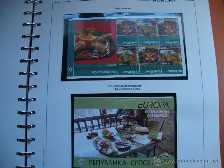 CARNES TEMA EUROPA AÑO 2005 PERFECTOS VER FOTOS (Sellos - Temáticas - Europa Cept)