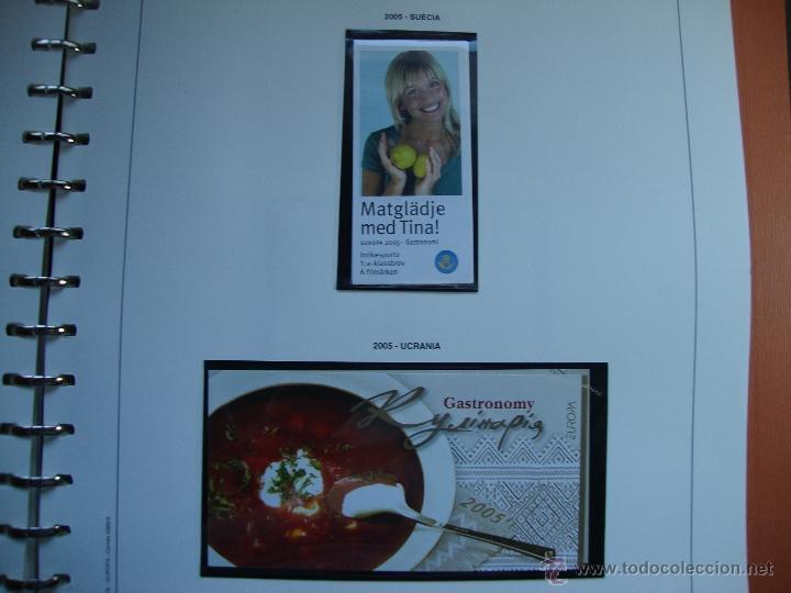 Sellos: CARNES TEMA EUROPA AÑO 2005 PERFECTOS VER FOTOS - Foto 5 - 48423057