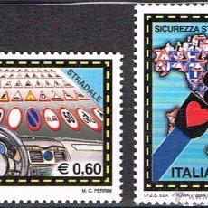 Sellos: PRO EUROPA 2004 ITALIA SEGURIDAD VIAL MNH**. Lote 76640351