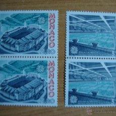 Sellos: TEMA EUROPA MONACO AÑO 1987 PAREJA NUEVOS SIN CHARNELAS YVERT 1565/1566. Lote 48816610