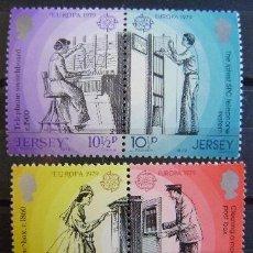 Selos: EUROPA CEPT - JERSEY 1979 - IVERT Nº 188/92 - SELLOS NUEVOS (**) SIN FIJASELLOS . Lote 49497077