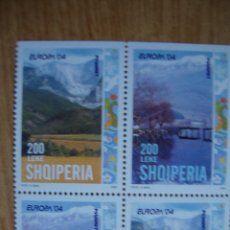 Sellos: TEMA EUROPA AÑO 2004 ALBANIA. NUEVS SIN CHARNELAS. Lote 49454418