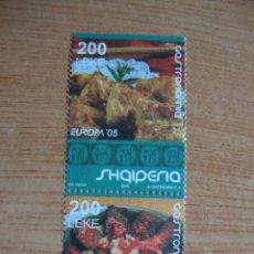 Sellos: TEMA EUROPA 2005 ALBANIA NUEVOS SIN CHARNELAS. Lote 49467144