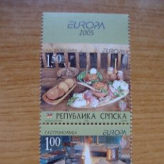 Sellos: TEMA EUROPA AÑO 2005 BOSNIA HERSGOVINA (SERBIA) NUEVO SIN CHARNELAS. Lote 49467517