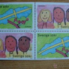 Sellos: TEMA EUROPA 2006 SUECIA NUEVOS SIN CHARNELAS. Lote 49468161