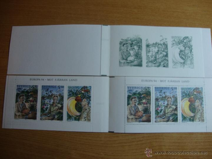 Sellos: TEMA EUROPA CARNET Y PRUEBA SUECIA 1994 - Foto 2 - 51233993