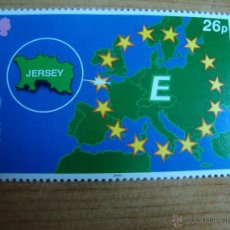 Sellos: TEMA EUROPA JERSEY IVERT 921 SIN CHARNELA. Lote 51234262