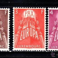 Sellos: LUXEMBURGO 531/33** - AÑO 1957 - EUROPA. Lote 52027345