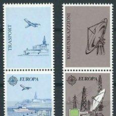 Sellos: MALTA 1988 TEMA EUROPA YVERT 773/74**. Lote 53649960