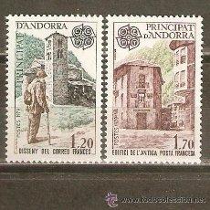 Stamps - ANDORRA FRANCESA AÑO 1979 YVERT Nº 276/77 ** MNH Sellos Nuevos sin fijasellos - EUROPA - HISTORIA PO - 54022482
