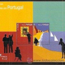 PORTUGAL AÑO 2004 YVERT HOJA Nº 205 (HB205 HB 205) ** MNH Sellos Nuevos sin fijasellos - EUROPA - LA