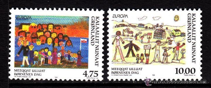 GROENLANDIA 1998 IVERT 302/3 *** EUROPA - FIESTAS NACIONALES (Sellos - Temáticas - Europa Cept)