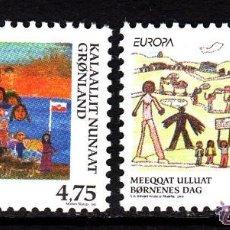 Sellos: GROENLANDIA 1998 IVERT 302/3 *** EUROPA - FIESTAS NACIONALES. Lote 54504892