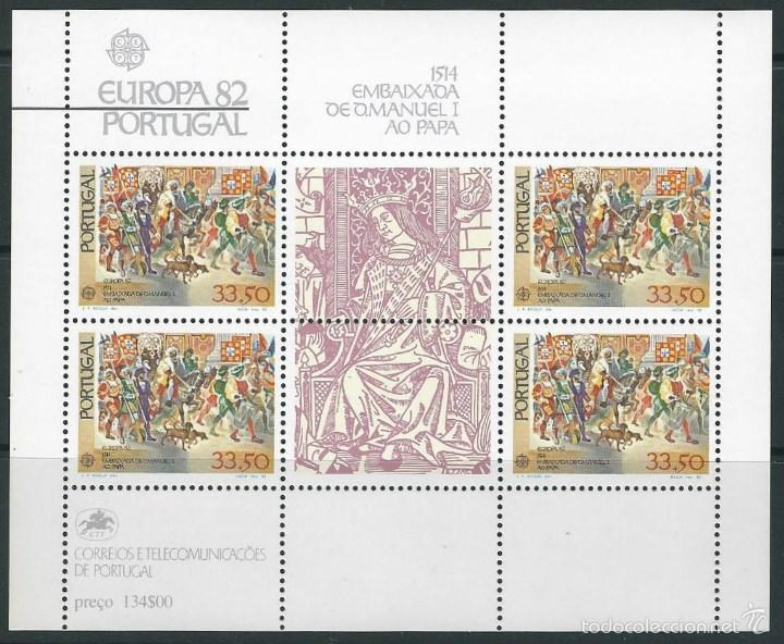 PORTUGAL 1982 EUROPA 82 (Sellos - Temáticas - Europa Cept)