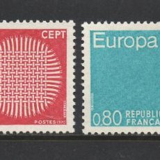 Stamps - FRANCIA 1637/38** - AÑO 1970 - EUROPA - 57050840