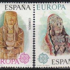 Stamps - EDIFIL Nº 2177/8, EUROPA 1974: DAMA OFERENTE DE ALBACETE Y DAMA DE BAZA (GRANADA) NUEVO *** (SERIE C - 57525727