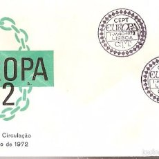 Portugal & FDC CPTE, Lisboa 1972, (1152)