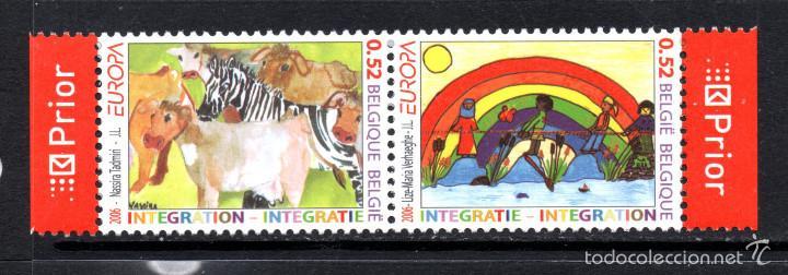 BELGICA 3546/47** - AÑO 2006 - EUROPA - LA INTEGRACION (Sellos - Temáticas - Europa Cept)