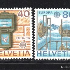 Sellos: SUIZA 1084/85** - AÑO 1979 - EUROPA - HISTORIA POSTAL. Lote 179339081