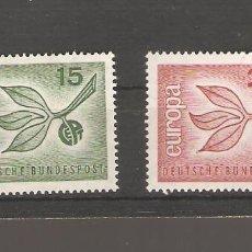 Sellos: SELLOS ALEMANES SIN USAR NUEVOS 1965. Lote 62473220