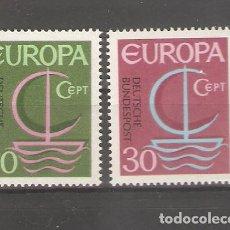 Sellos: ALEMANIA SELLOS SIN USAR NUEVOS SERIES COMPLETAS 1966. Lote 62636208