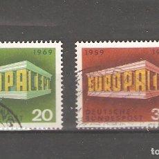 Sellos: ALEMANIA SELLOS USADOS SERIES COMPLETAS 1969. Lote 62636976