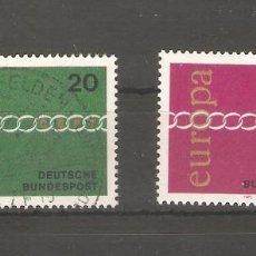 Sellos: ALEMANIA SELLOS USADOS SERIES COMPLETAS 1971. Lote 62637560