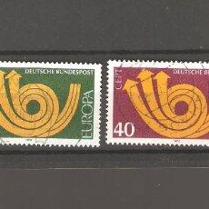 Sellos: SELLOS DE ALEMANIA FEDERAL USADOS 1973. Lote 63490308