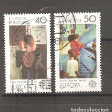 Sellos: SELLOS DE ALEMANIA FEDERAL USADOS 1975 EUROPA. Lote 63494136