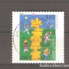 Sellos: SELLOS ALEMANIA FEDERAL 24/10 AÑO 2000. Lote 63691819
