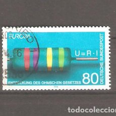 Sellos: SELLOS ALEMANIA FEDERAL 24/10 AÑO 1994 EUROPA. Lote 63697087