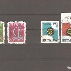 Sellos: SELLOS DE ALEMANIA USADOS 24/10 AÑO 1966-1967 EUROPA. Lote 63856859