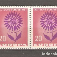 Sellos: SELLOS ALEMANIA FEDERAL SIN USAR NUEVOS 24/10 AÑO 1964 EUROPA. Lote 63966435