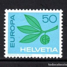 Sellos: SUIZA 758** - AÑO 1965 - EUROPA. Lote 112948075