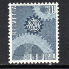 Sellos: SUIZA 783** - AÑO 1967 - EUROPA. Lote 125477018