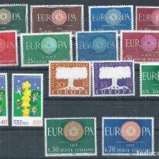 Sellos: R11/ LOTE EUROPA-CEPT, NUEVOS** S/F. Lote 70461077