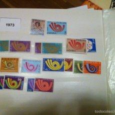 Sellos: EUROPA CEPT 1973 16 SELLOS 9 PAÍSES NUEVOS. Lote 79033097