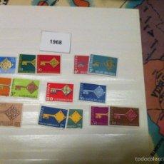 Sellos: EUROPA CEPT 1968 9 PAÍSES NUEVOS. Lote 79034741
