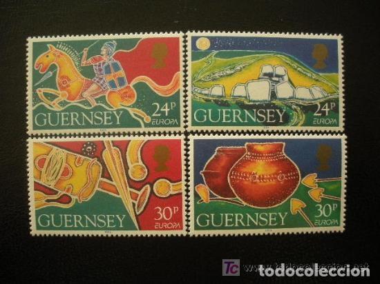 GUERNESEY 1994 IVERT 643/6 *** EUROPA - LOS DESCUBRIMIENTOS (Sellos - Temáticas - Europa Cept)