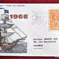 Mónaco. SPD 698 Europa-Cept: Barco. 1966. Matasello: 26-9-1966 Monte-Carlo Pte. De Monaco