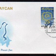 Stamps - AZERBAIYAN - EUROPA 2008 - SPD (AÑO 2008) ** - 103061867