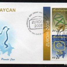 Stamps - AZERBAIYAN - EUROPA 2008 - SPD (AÑO 2008) ** - 103061931
