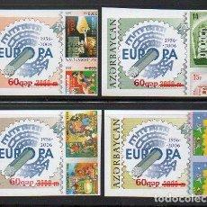 Sellos: AZERBAIYAN - 50 ANIV. EUROPA CEPT / SIN DENTAR (AÑO 2006) **. Lote 103062115