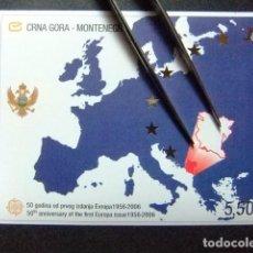 Sellos: MONTENEGRO 50 ANIVERSARIO DE SELLOS DE EUROPA YVERT BLOC 3 ** MNH. Lote 103504911